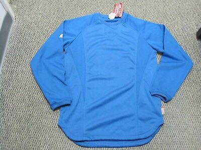 New Majestic Adult Therma Base Baseball Fleece Royal Cold Gear - 6670 - DK98