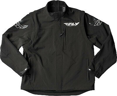 Fly Racing Black Ops Convertible Offroad Motorcycle Riding Jacket