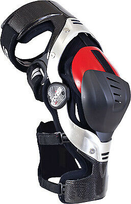 EVS Axis Pro Carbon Aluminum Frame Motorcycle Riding Knee Protection Brace Pair