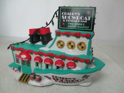 Coca Cola Town Square Collection Crabby's Showboat 2004 New