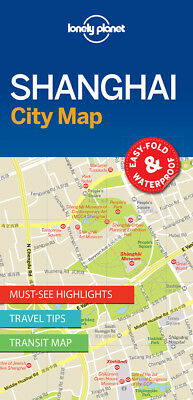 Lonely Planet Shanghai City Map, Lonely Planet