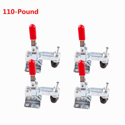 Toggle Clamp 101A 110LBS Vertical Quick Release Antislip Capacity 4Pcs
