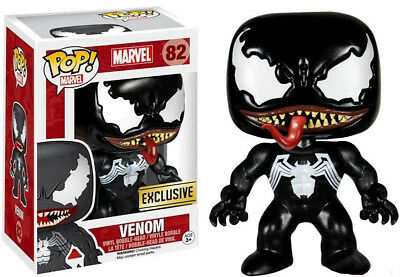 Funko POP Marvel Spider-Man Exclusive Venom #82 PVC Figure Model kid's gifts