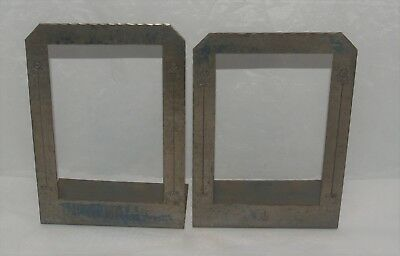 Antique Arts And Crafts Roycroft Hammered Copper Pair Of Bookends