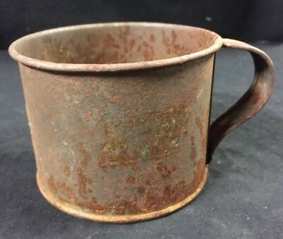Vintage Tin Cup