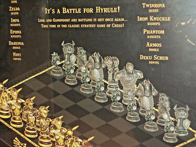 The Legend of Zelda Collectors Edition Chess Set - Awesome Games Board Game New