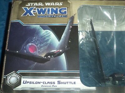 Star Wars X-Wing Upsilon-Class Shuttle Expansion FFG Miniatures Board Game New