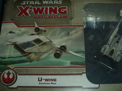 Star Wars X-Wing U-Wing Expansion Pack Miniatures Board Game New