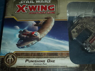 Star Wars X-Wing Punishing One Expansion Pack Miniatures Board Game New