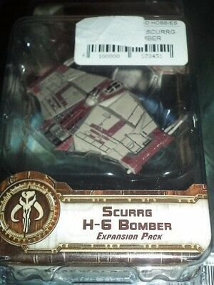 Star Wars X-Wing Scurrg H-6 Bomber Expansion Pack Miniatures FFG Board Game New
