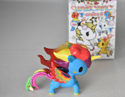 Tokidoki Unicorno Series 6 Vinyl Figure Fuego Magic Unicorn Collectable Art