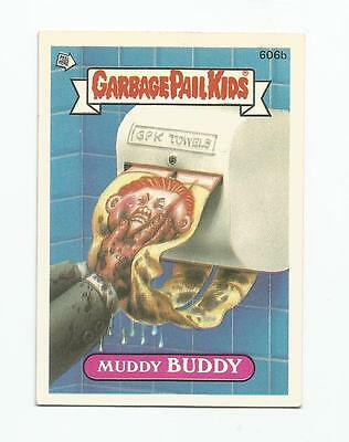 Muddy Buddy 606b - Garbage Kübel Kinder GPK Original Series 15 Karte 1988