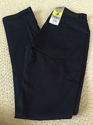 NWT Men/'s Stylo Skinnier Stretch Navy Blue Denim Classic Skinny Jeans ALL SIZES