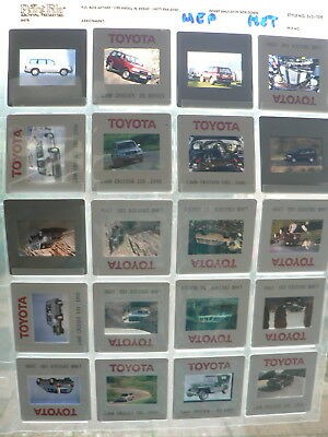 Af369- 20 Dia's Factory ? Toyota Land Cruiser 100,80,50 Series Car 20 Pictures