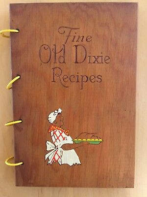 Fine Old Dixie Recipes near mint cookbook,1939 edition, African American history