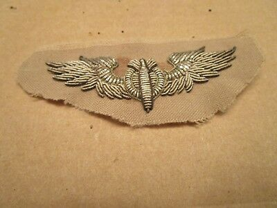 US Army Air Corp Bullion Wing