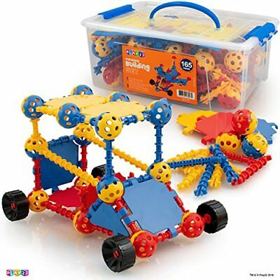 Play22 Building Toys For Kids 165 Set - STEM Educational Construction Toys