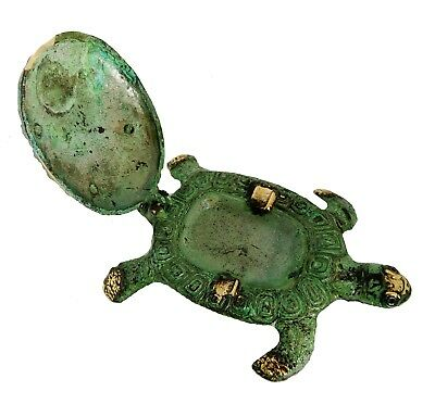 Ancient Greek Bronze Museum Statue Replica turtle