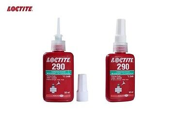 LOCTITE 290 Wicking Grade Medium-High Strength Green Threadlocker 50ml EXP 2020