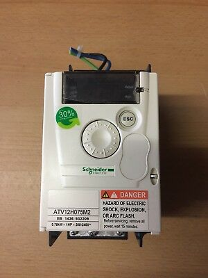 Schneider Electric ATV12H075M2 Inverter / 0.75kW - 1HP - 200-240V