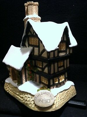 David Winter Cottages ~ Mister Fezziwig's Emporium: Special Christmas 1990