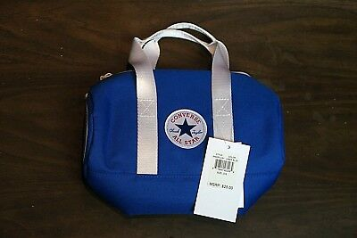 65662f321ace CONVERSE Chuck Taylor All Star Insulated Lunch Bag Travel Tote Blue White -  NWT
