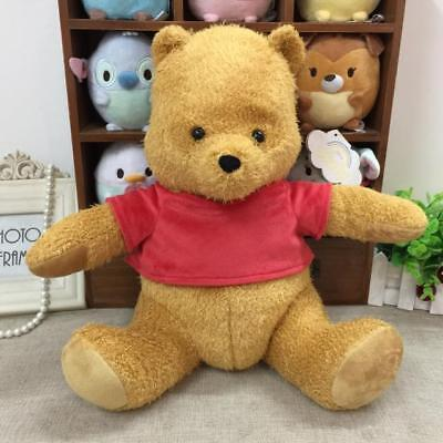 Disney Christopher Robin Plush Doll Winnie The Pooh 35cm Japan