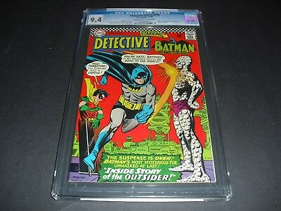 Detective Comics #356 CGC 9.4 OW/W pages from 1966! Batman DC Comics not CBCS