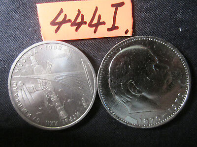 2 x rouble coins    Russia    20  gms      Mar4441/1