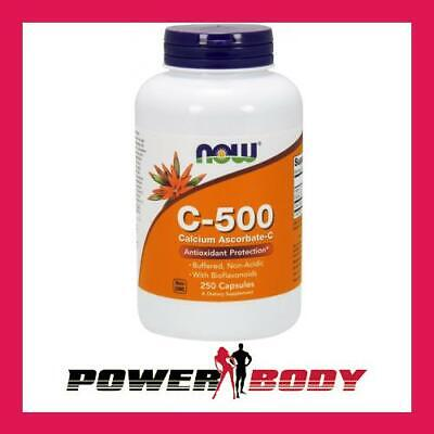 NOW Foods - Vitamin C-500 Calcium Ascorbate-C