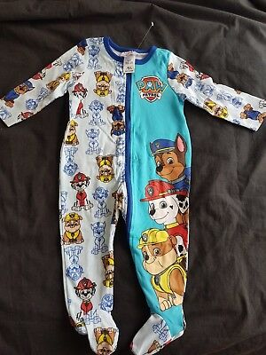 Boys new PAW PATROL sleepsuit size 0