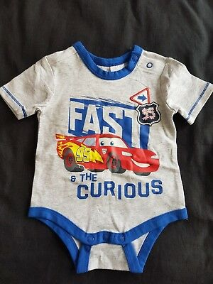 Boys new CARS romper size 00