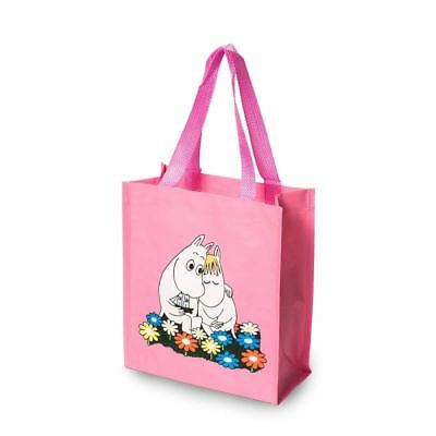 MOOMIN plastic shopping bag MOOMINTROLL AND SNORKMAIDEN