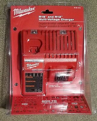 Milwaukee M18 Multi Charger M12 RETAIL 48-59-1812 48-11-1850