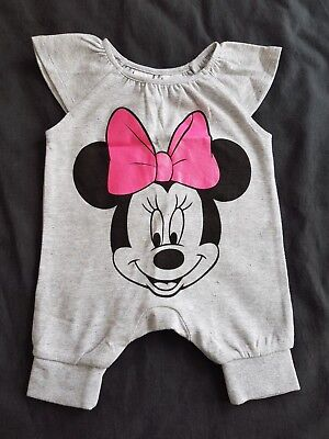 Girls new MINNIE MOUSE romper size 0000