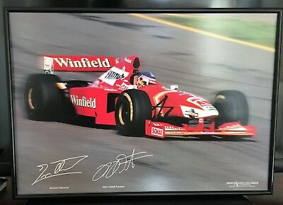 Old Formula One Framed Winfield Print