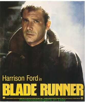 BLADE RUNNER MOVIE POSTER Original Ultra Rare Special Promo 17x20 Inch N.Mint