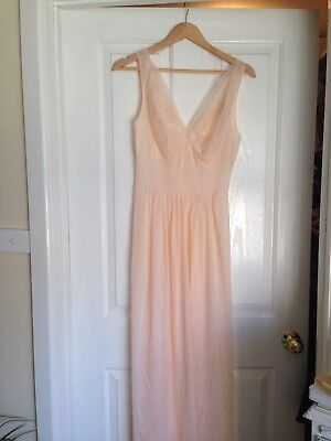 Beautiful Vintage Nightgown And Satin Bed Jacket