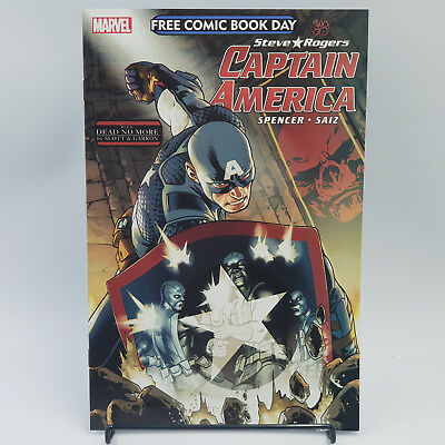 Steve Rogers Captain America - Free Comic Book Day 2016 - Marvel Comics - FCBD