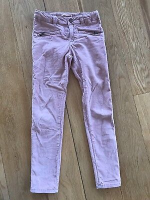 Corduroy Trousers Size 8 Years Pale Pink Zara