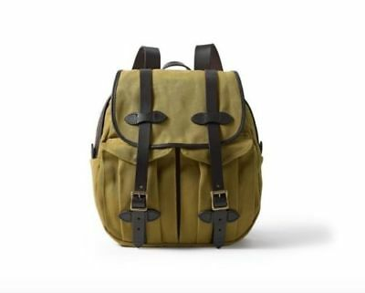 Filson Rucksack - Tan, Brand New. Gorgeous Brass and Bridal leather bag 70262