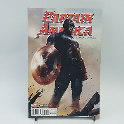 Captain America Road To War #1 Marvel Comics Variant