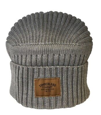 56fdb5ec28b TIMBERLAND HATS GULF Beach Ribbed Beanie Hat - Red - £18.95 ...