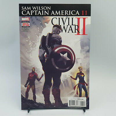 Sam WIlson Captain America Marvel Comics Civil War II