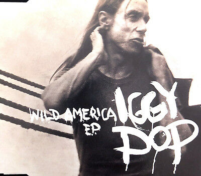 Iggy Pop ‎Maxi CD Wild America E.P. - Europe (EX+/EX+)