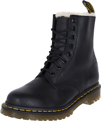 great deals official release info on DR. MARTENS 1460 SERENA 8-Eye Burnished Wyoming Fake Fur ...