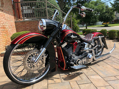 2012 Harley-Davidson Softail  2012 Harley Davidson Deluxe For Sale~Dirty Bird Concepts and Covingtons Air Ride