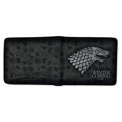 Game of Thrones ABYBAG166 Portefeuille Maison Stark Winter is Coming