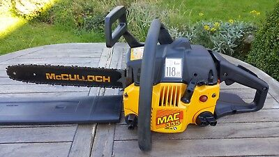 McCulloch MAC 335 Petrol Chainsaw. Excellent little used example of a classic