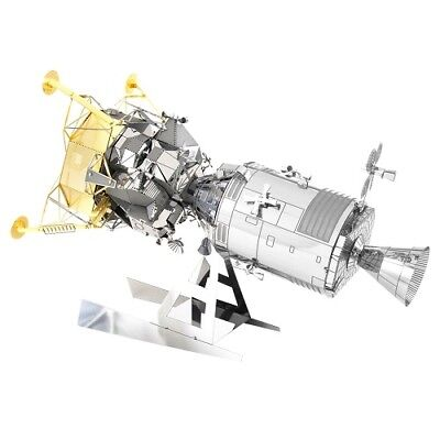 Fascinations Metal Earth 3D Metal Model Kit - NASA Apollo CSM with LM (MMS168)